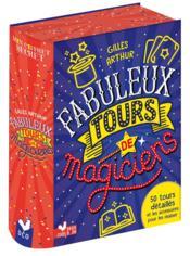 Fabuleux tours de magiciens - Couverture - Format classique