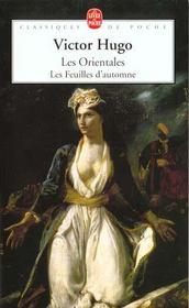 telecharger Les orientales – les feuilles d'automne livre PDF en ligne gratuit