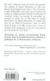 Artemisia - 4ème de couverture - Format classique
