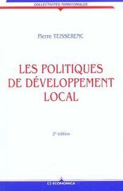 Les Politiques De Developpement Local ; Approche Sociologique ; 2e Edition - Intérieur - Format classique