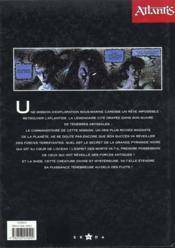 Atlantis t.1 ; la sheb - 4ème de couverture - Format classique