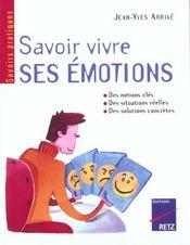 Savoir vivre ses émotions - Intérieur - Format classique