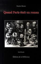Quand paris etait un roman - Intérieur - Format classique
