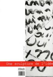 Jacqueline Gueux, une sculture de l'idée - 4ème de couverture - Format classique