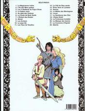 Thorgal T.9 ; les archers - 4ème de couverture - Format classique