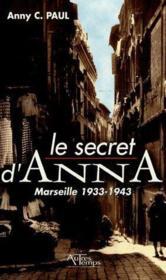 Secret D'Anna - Couverture - Format classique