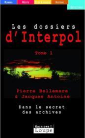 Les dossiers d'Interpol t.1 - Couverture - Format classique
