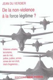 De la non-violence à la force légitime ? - Intérieur - Format classique