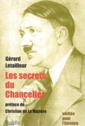 Les secrets du chancelier - Couverture - Format classique