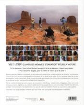 Vu du ciel ; quand des hommes s'engagent pour la nature - 4ème de couverture - Format classique