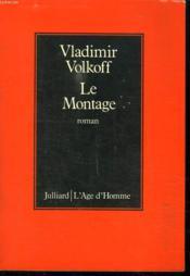 Le Montage. - Couverture - Format classique