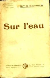 Sur L'Eau. - Couverture - Format classique