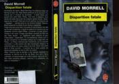 Disparition Fatale - Couverture - Format classique