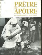 Pretre Et Apotre Vie Interieure Et Apostolat - N°496 - Couverture - Format classique