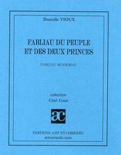 Fabliau du peuple et des deux princes ; fabliau moderne - Intérieur - Format classique