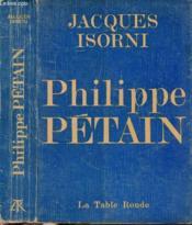 Philippe Petain - Couverture - Format classique