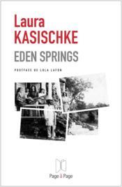 Eden Springs - Couverture - Format classique