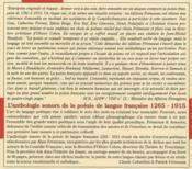 Anthologie de la poésie de langue française - 4ème de couverture - Format classique