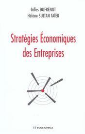 Les strategies economiques des entreprises - Intérieur - Format classique