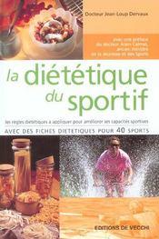 Dietetique Du Sportif (La) - Intérieur - Format classique