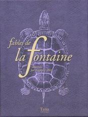 Boite Fables De La Fontaine - Intérieur - Format classique