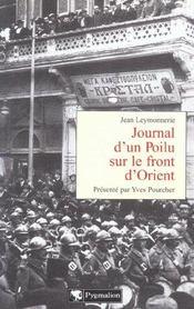 Journal D'Un Poilu Sur Le Front D'Orient - Intérieur - Format classique