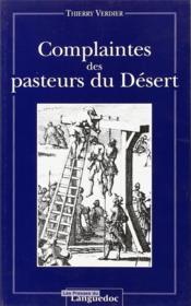 Complaintes des pasteurs du désert - Couverture - Format classique
