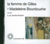 La femme de Gilles - Couverture - Format classique