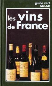 Vins De France -Guide Vert - Intérieur - Format classique