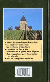 Vins De France -Guide Vert - 4ème de couverture - Format classique