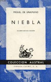 Niebla (Nivola), Colección Austral, N° 99 - Couverture - Format classique