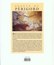 Beaute Du Perigord - 4ème de couverture - Format classique