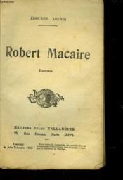 Robert Macaire - Couverture - Format classique