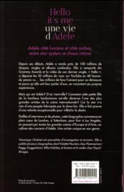 Hello it's me ; une vie d'Adele - 4ème de couverture - Format classique