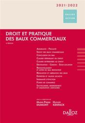 Droit et pratique des baux commerciaux (édition 2021/2022) - Couverture - Format classique