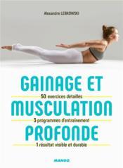 Gainage et musculation profonde - Couverture - Format classique