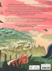 L'agence kat wolfe tome 2 - le secret du dragon - 4ème de couverture - Format classique
