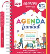 Agenda familial mémoniak ; septembre 2020-décembre 2021 - Couverture - Format classique