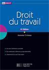 Hu Droit ; Droit Du Travail (Edition 2008-2009) - Couverture - Format classique