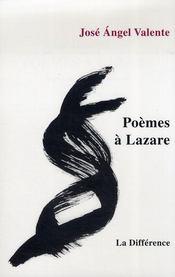 Poemes a lazare (bilingue) - Intérieur - Format classique