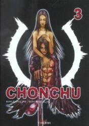 Chonchu t.3 - Couverture - Format classique