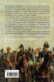 La révolution militaire napoléonienne t.1 ; les manoeuvres - 4ème de couverture - Format classique