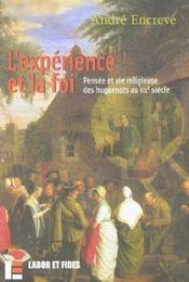 L'experience et la foi - Intérieur - Format classique