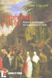 L'experience et la foi - Couverture - Format classique