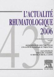 Actualité rhumatologique (édition 2006) - Couverture - Format classique