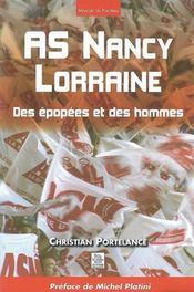 As nancy, lorraine ; des épopées et des hommes - Intérieur - Format classique