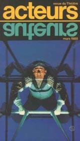 Acteurs no 1 mars 1988 - revue du theatre - Couverture - Format classique