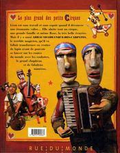 Le plus grand des petits cirques - 4ème de couverture - Format classique