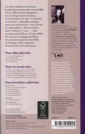 La symbolique des fleurs - 4ème de couverture - Format classique