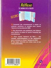 Memos Reflexes - 4ème de couverture - Format classique